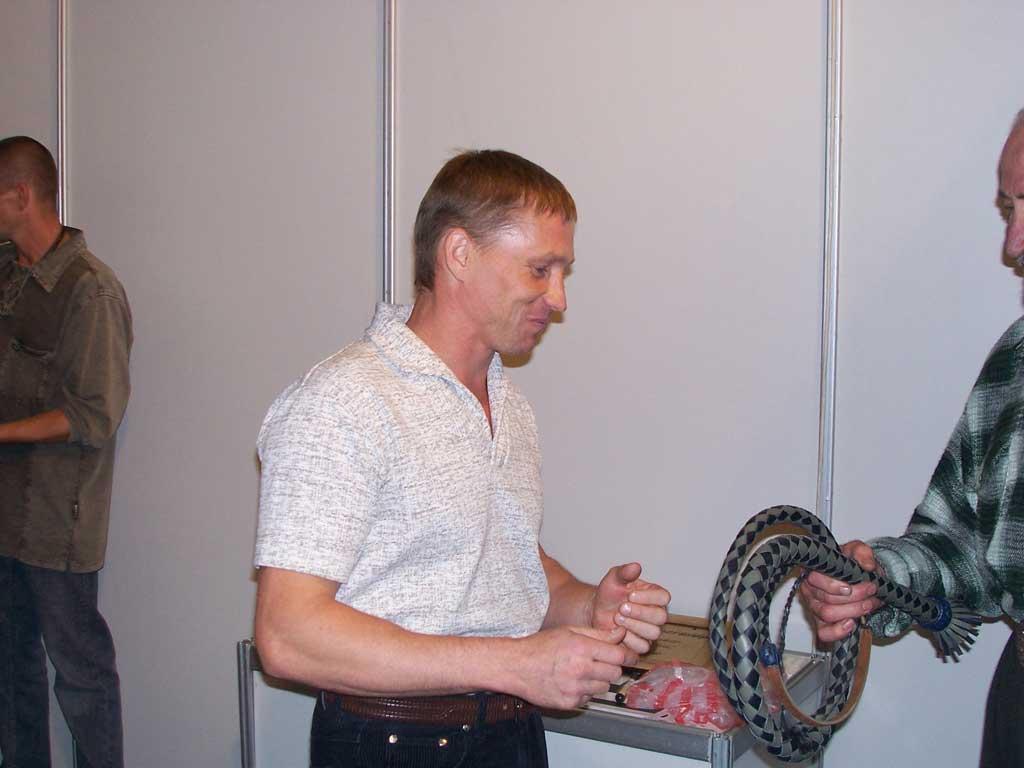 2й турнир по метанию ножа в честь Мухтарбека Кантемирова, 2007