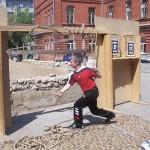 Соревнования по рубке каната
