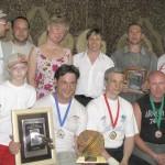 Открытые соревнования по спортивному метанию ножа