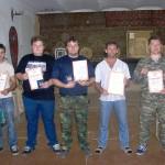 Учеба - базовый инструкторский семинар по спортивному метанию ножа