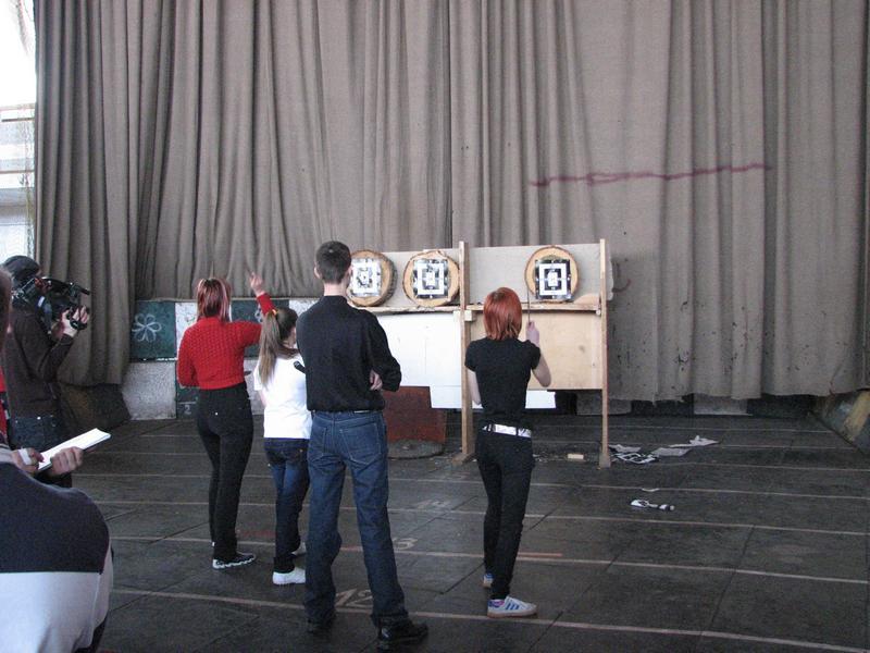 Самарский областной Турнир по спортивному метанию ножа