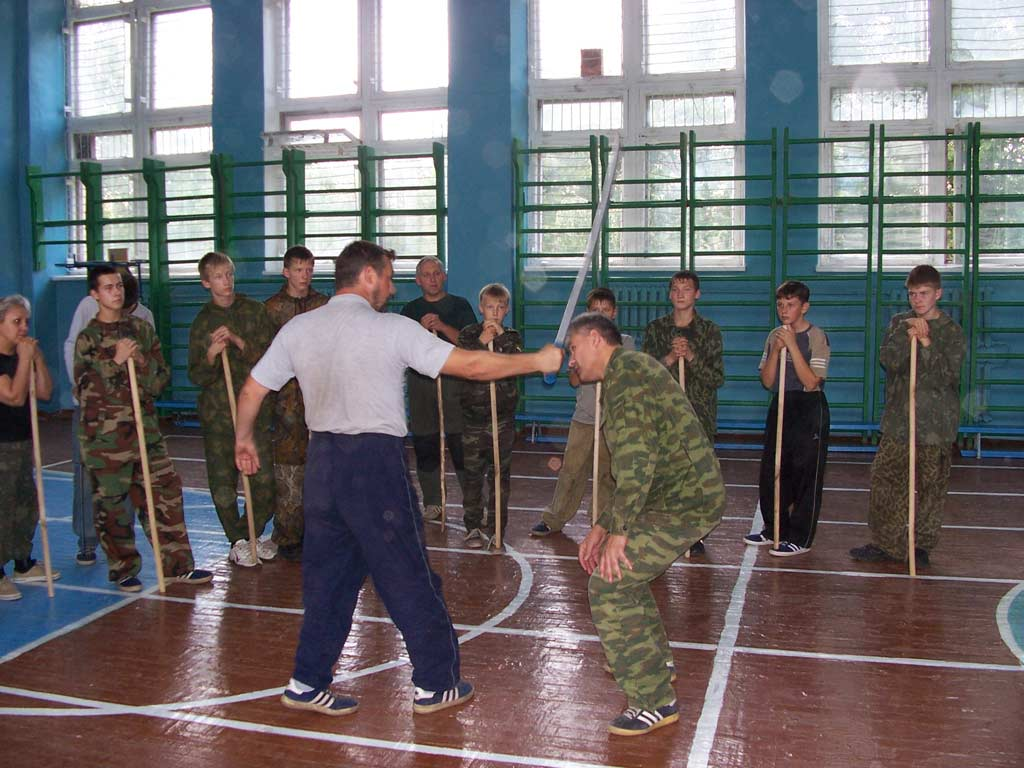 Семинар Сергея Полунина по русскому рукопашному бою, 2006