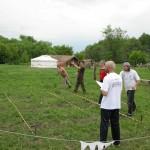 Открытые соревнования по спортивному метанию ножа и топора и по стрельбе из традиционного лука