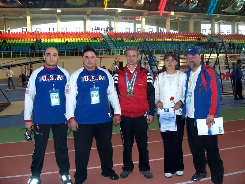 Чемпионат Мира по спортивному метанию ножа, 2007